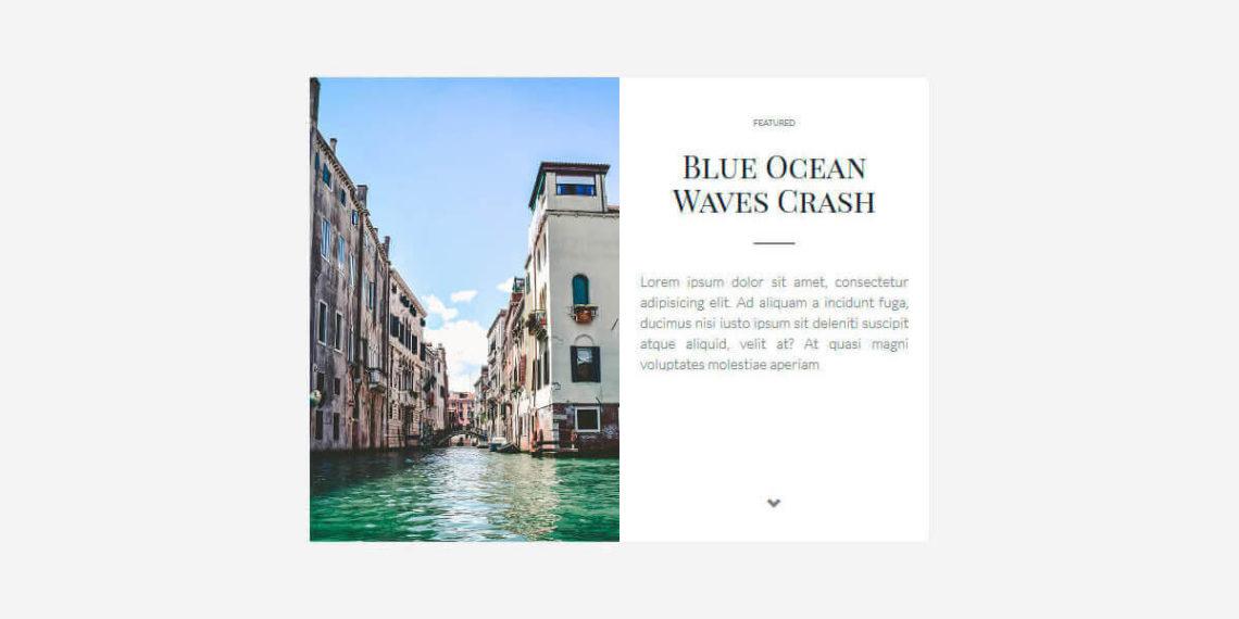 11 готовых CSS карточек для блога